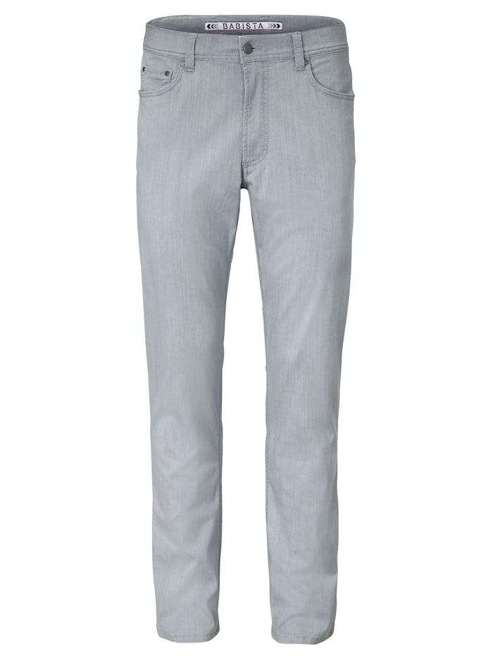 BABISTA Jeans mit hochelastischem Lycra, Hellgrau