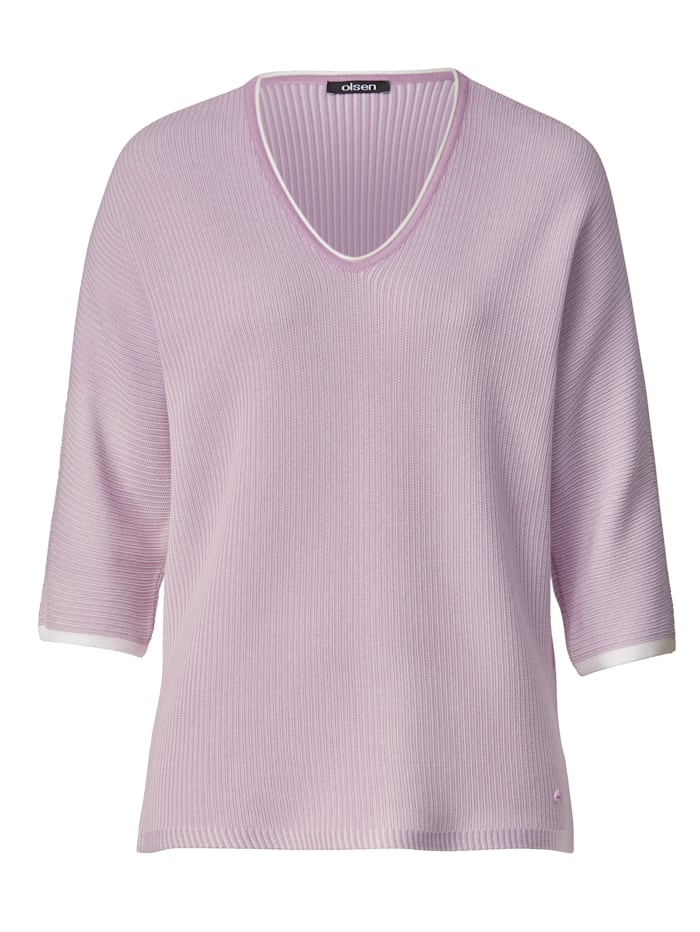 Jumper Made from a soft cotton-blend fabric