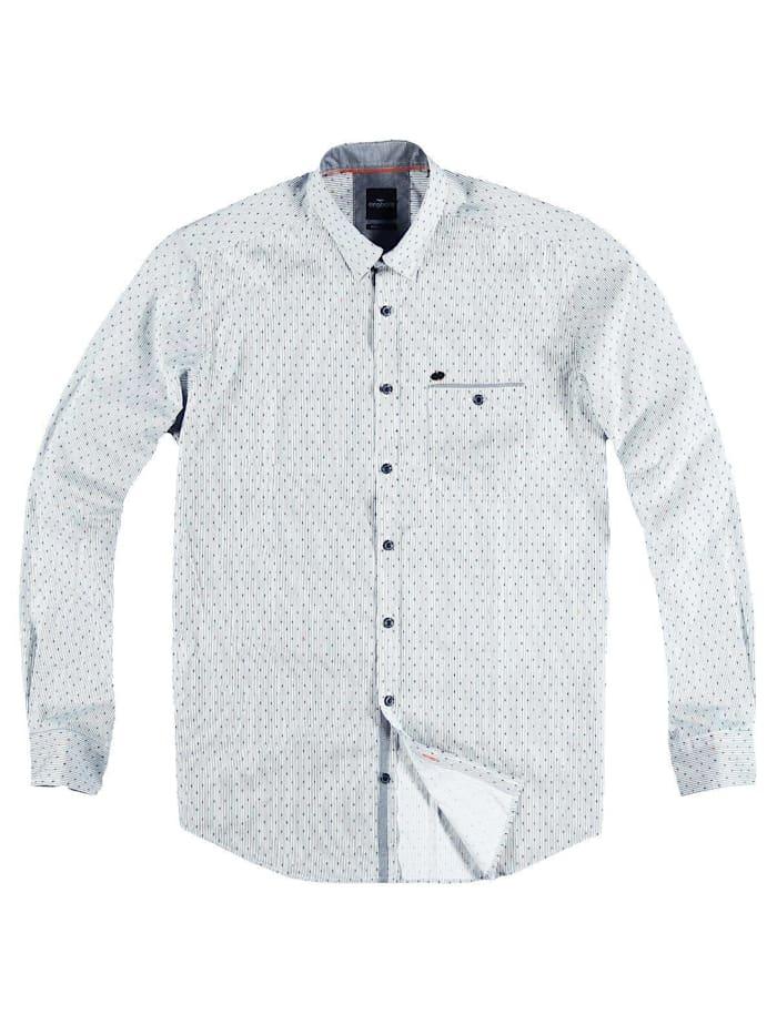 Engbers Hemd langarm, Marineblau