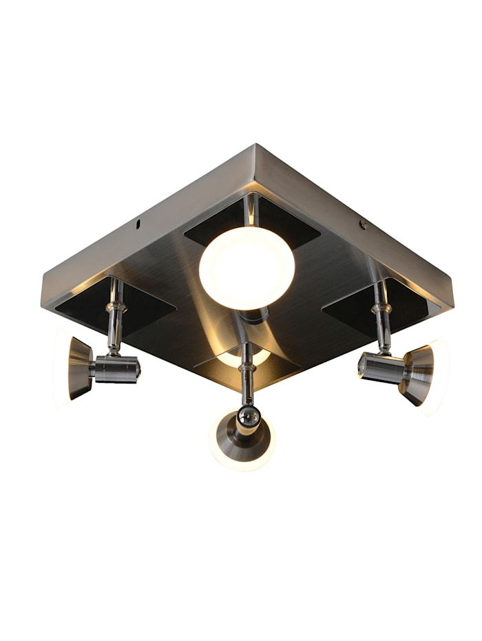 Näve 4er LED-Deckenleuchte 'Jericho', chrome