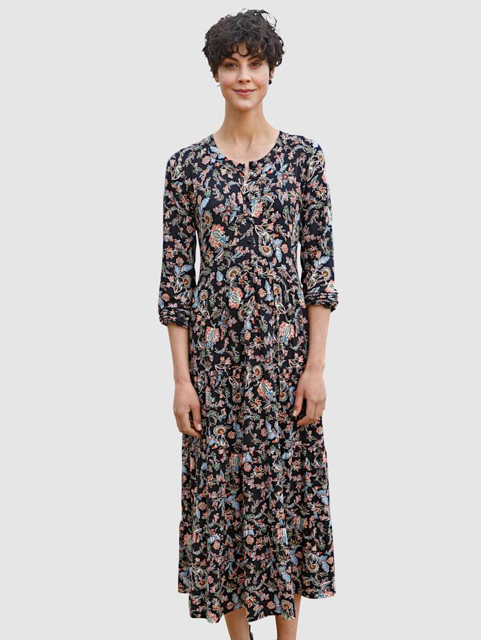 Dress In Šaty s hezkým potiskem, Černá