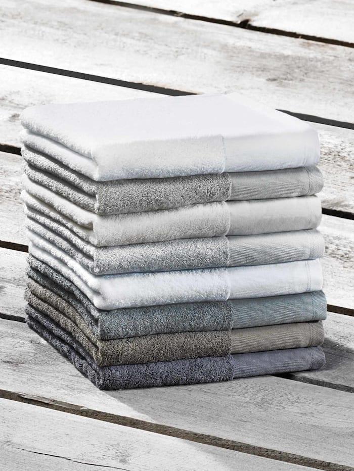 Rhomtuft Handdoeken, stone