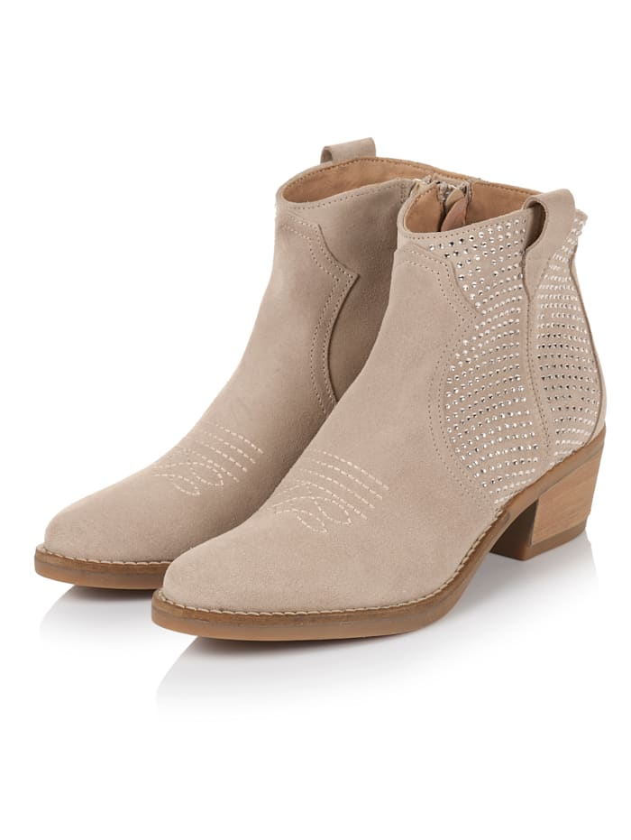 SIENNA Cowboy-Boot, Nude