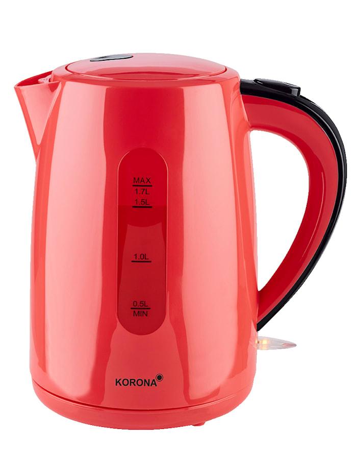 Korona Bouilloire 20133, 1,7 litres, rouge, Rouge