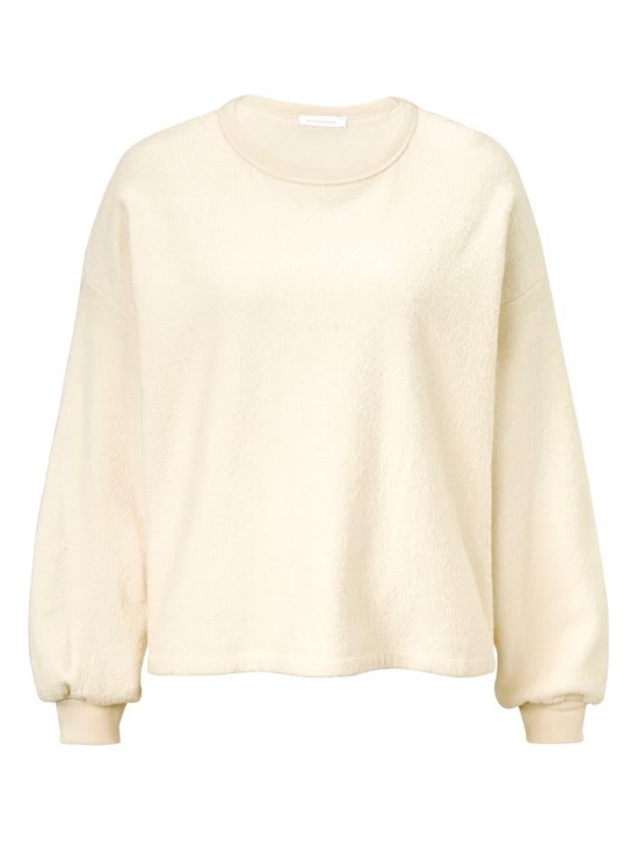 American Vintage Sweatshirt, Creme-Weiß
