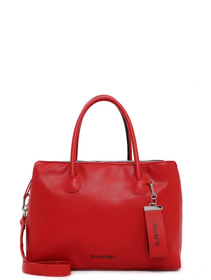 SURI FREY Businesstasche Lexy, red blue 605