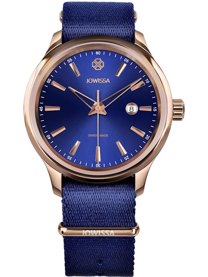 Jowissa Quarzuhr Tiro Swiss Men's Watch, blau