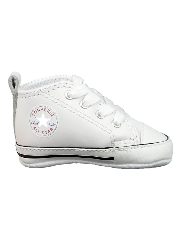 Converse first_shoe Baby Chucks 81229 First Star Weiss, Weiß