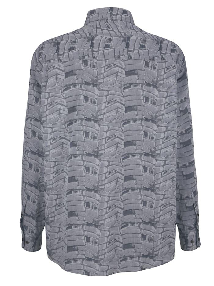 Chemise à motif jacquard