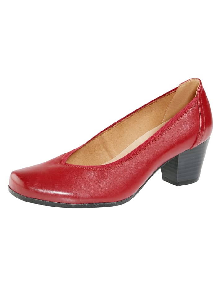 MONA Court shoes, Red