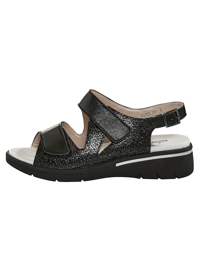 Sandaaltje met verstelbaar hielriempje