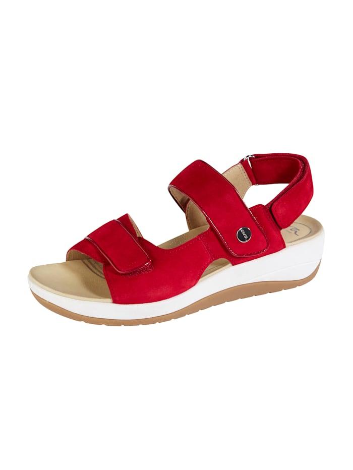 Ara Sandale ausgestattet mit der ara-HighSoft Technologie, Rot