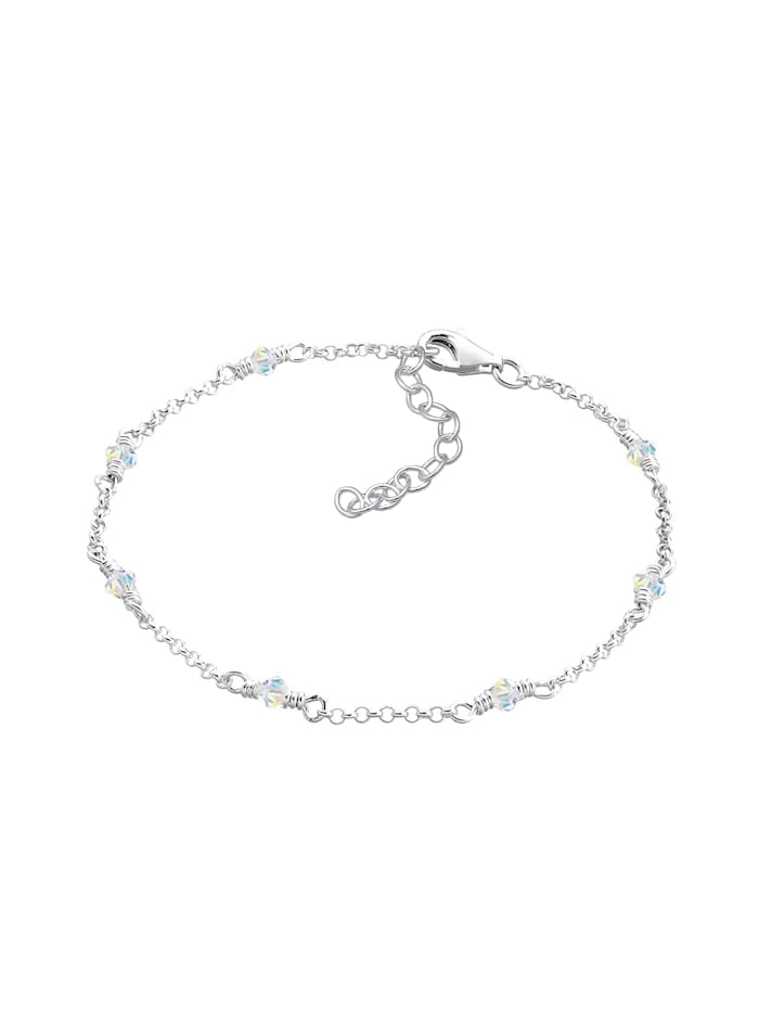Armband Klassiker Kristalle 925 Sterling Silber