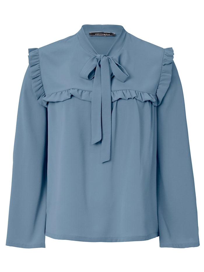 VERY SIMPLE Bluse, Hellblau