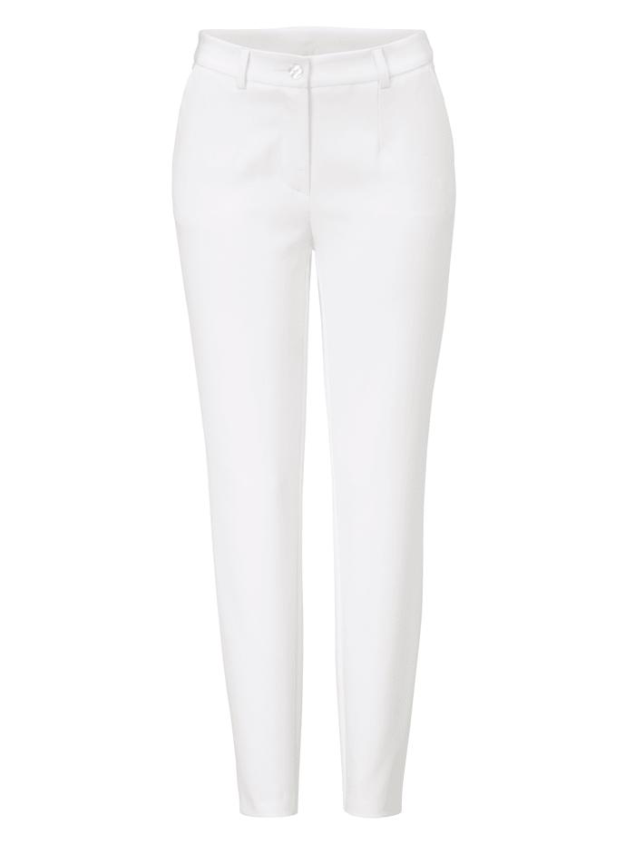 SIENNA Hose, Creme-Weiß