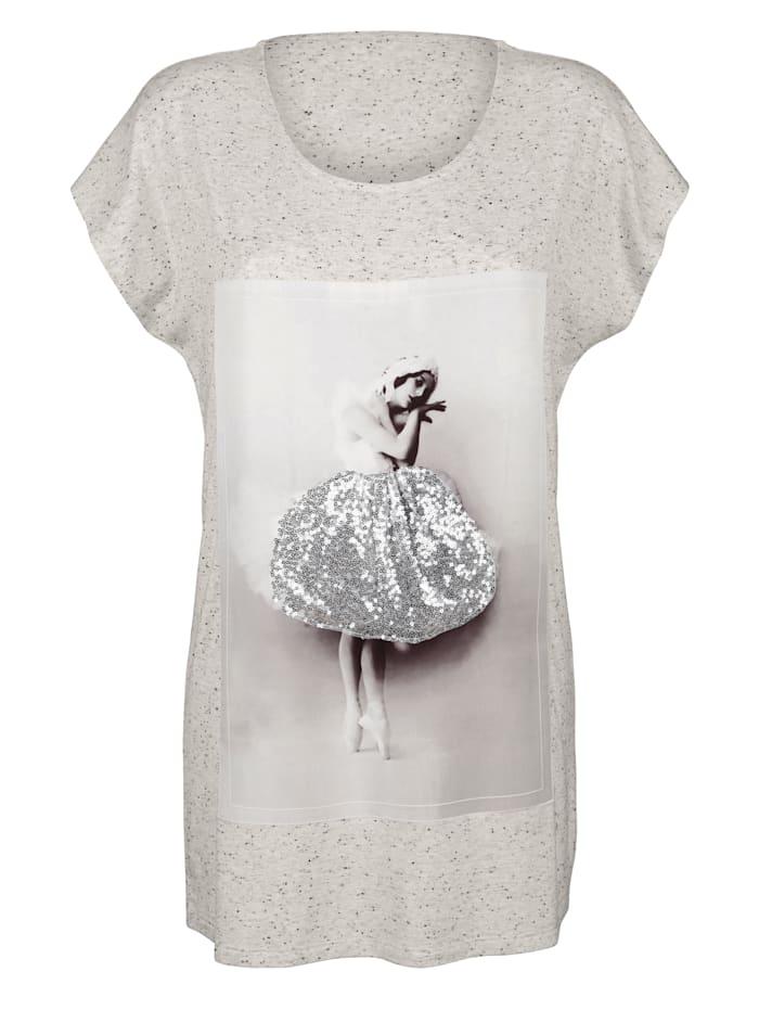 Dlhé tričko s motívom potlače