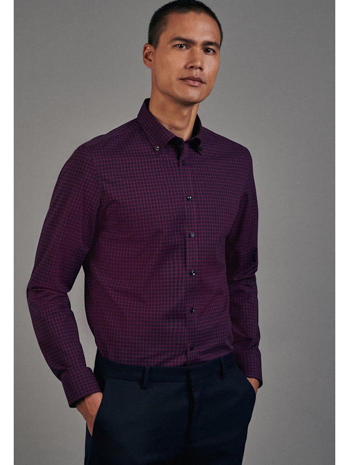 Seidensticker Business Hemd ' Slim ', burgund (0044)