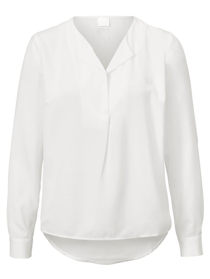 REKEN MAAR Bluse, Off-white