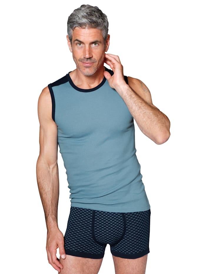 G Gregory Boxershorts, 1 x marine, 1 x bleu