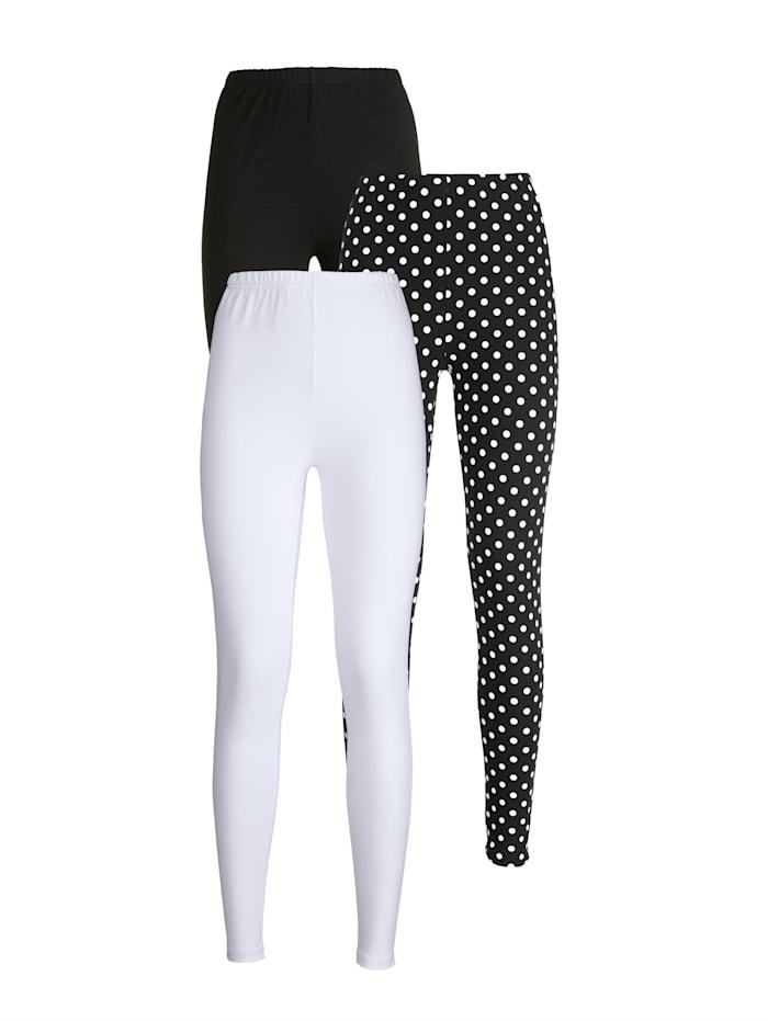 Leggings In fashonable polka dot design Pack of 3