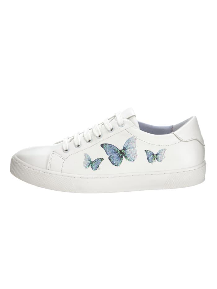 Sneakers – fjärilar med paljetter