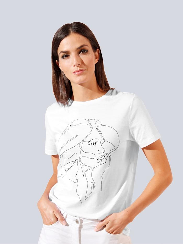 JETTE JOOP T-Shirt mit tollem Motiv, Weiß