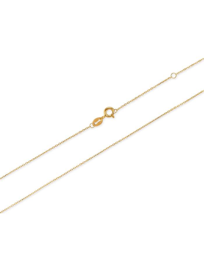 CHRIST Gold Damen-Kette Kette Polarstern 375er Gelbgold