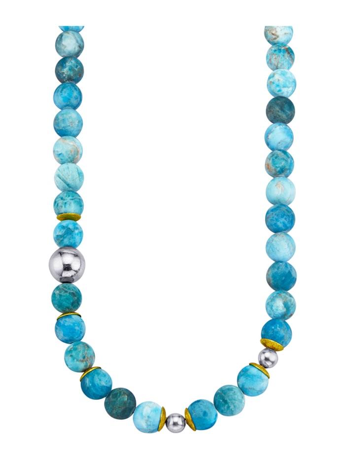 Amara Pierres colorées Collier, Turquoise