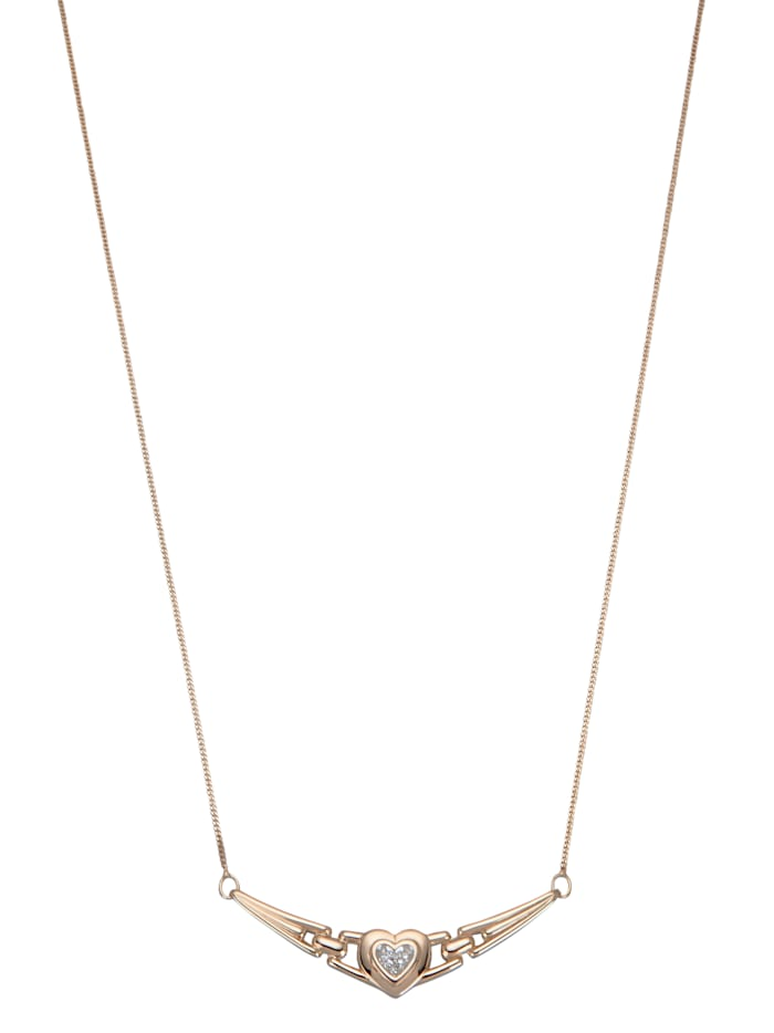 Collier met diamanten