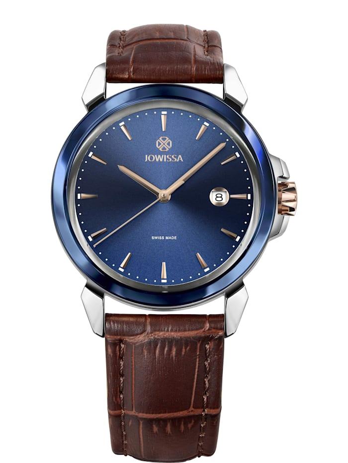 Jowissa Quarzuhr LeWy 3 Swiss Men's Watch, blau