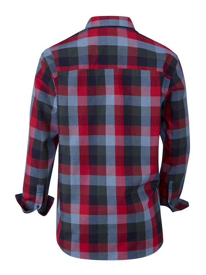 Overhemd met 2 klepzakken