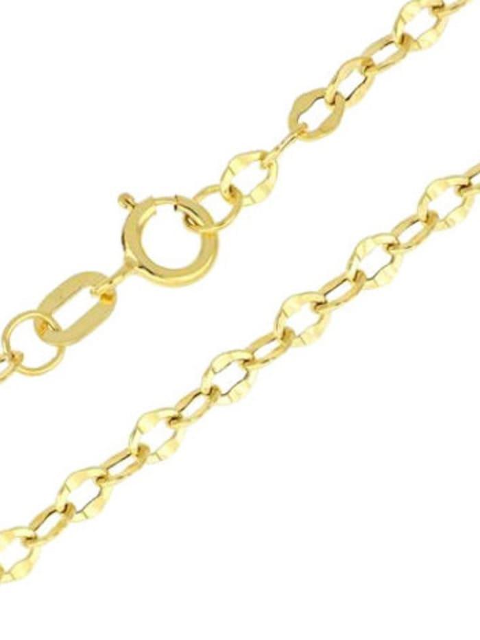 Grazielli Ankerarmband in Gelbgold, Gelbgoldfarben
