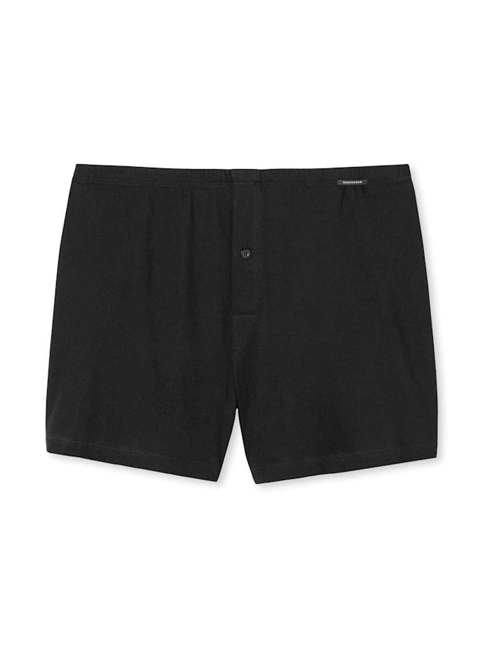 Schiesser Jersey-Boxershorts, schwarz