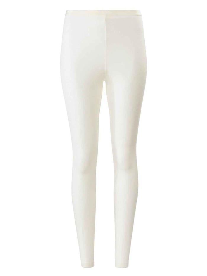 Calida Leggings aus Wolle-Seide Ökotex zertifiziert, cream white
