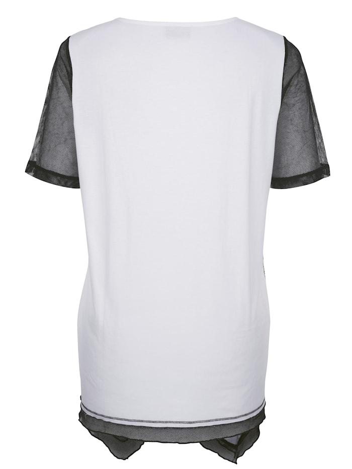 Tričko s módnou potlačou