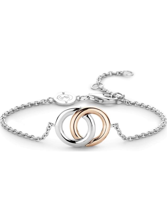 Ti Sento Milano Ti Sento - Milano Damen-Armband 925er Silber, bicolor