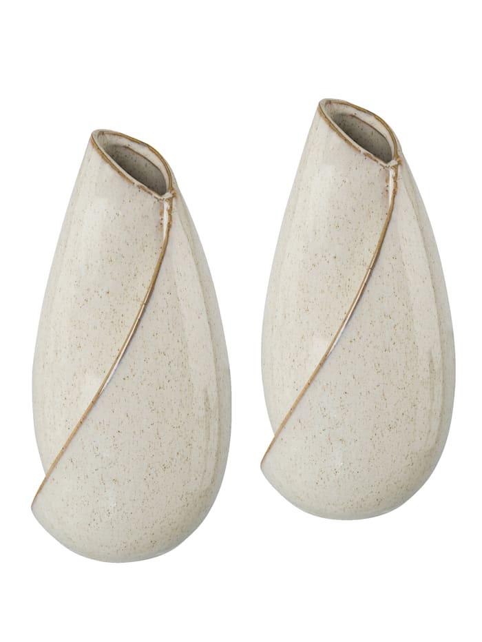 Creativ Deco Vasen-Set, 2tlg., beige