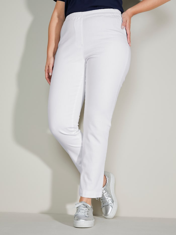 Jean taille extensible confortable