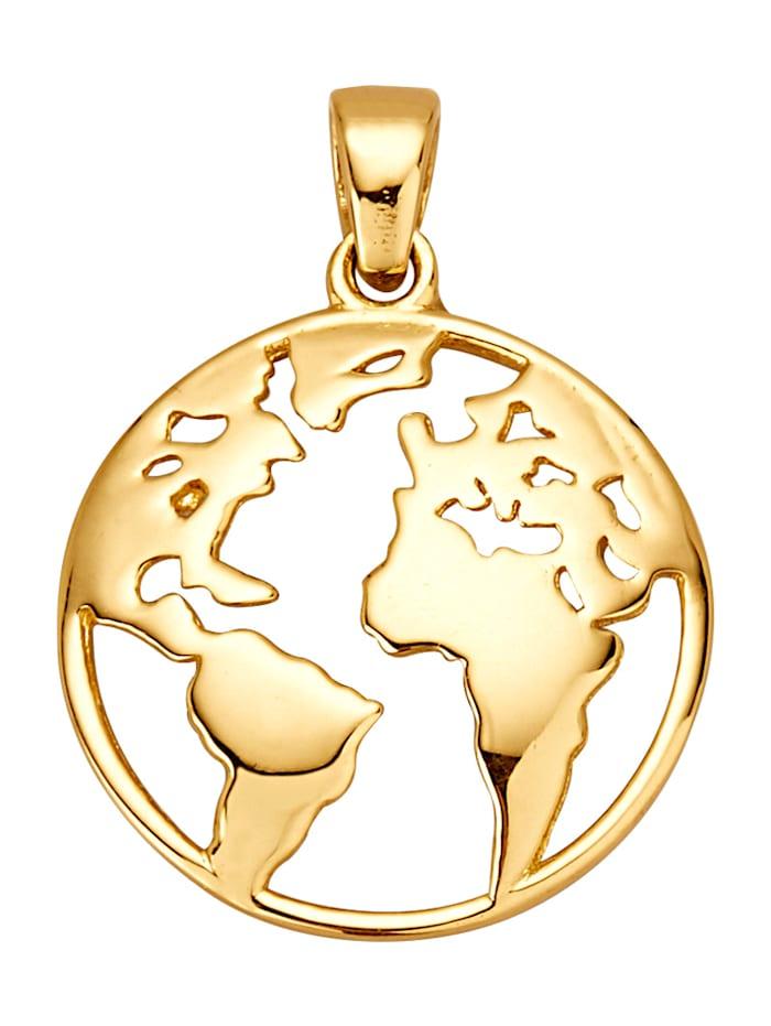 Kultainen maapalloriipus
