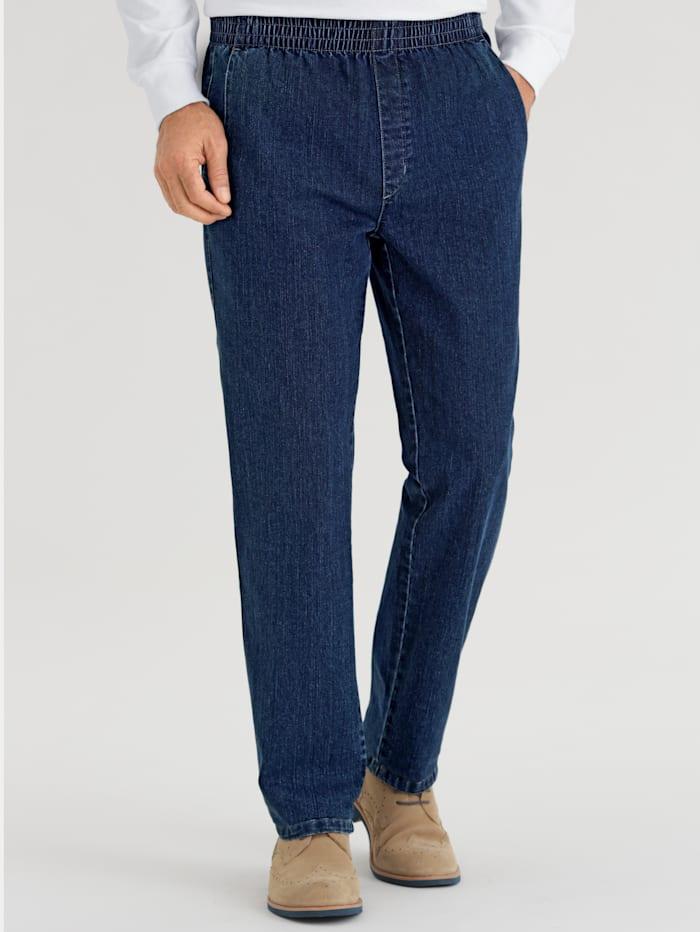 BABISTA Jeans met elastische band rondom, Blue stone