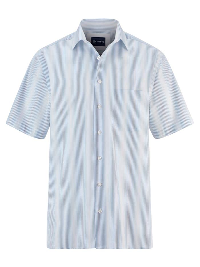 BABISTA Overhemd van strijkarm materiaal, Blauw