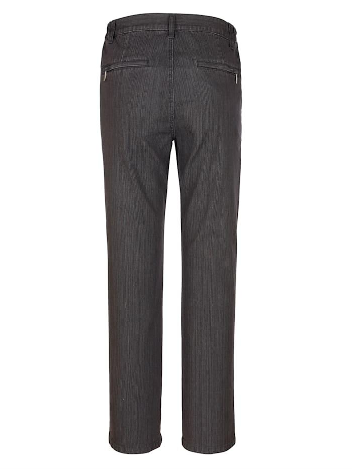 Jeans met schuine steekzakken