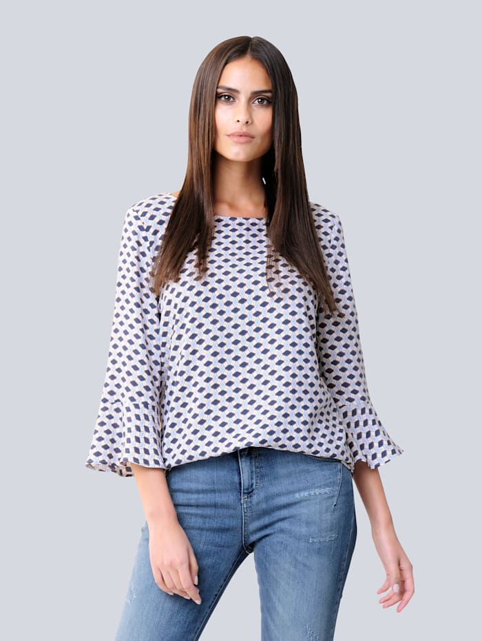 Blouse in tuniekmodel