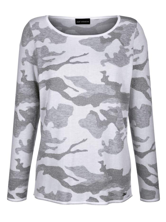 Trui in camouflagelook