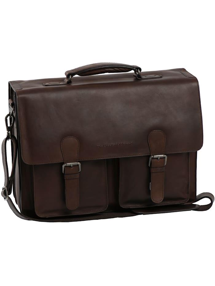 The Chesterfield Brand Wax Pull Up Lisbon Aktentasche Leder 42 cm, brown