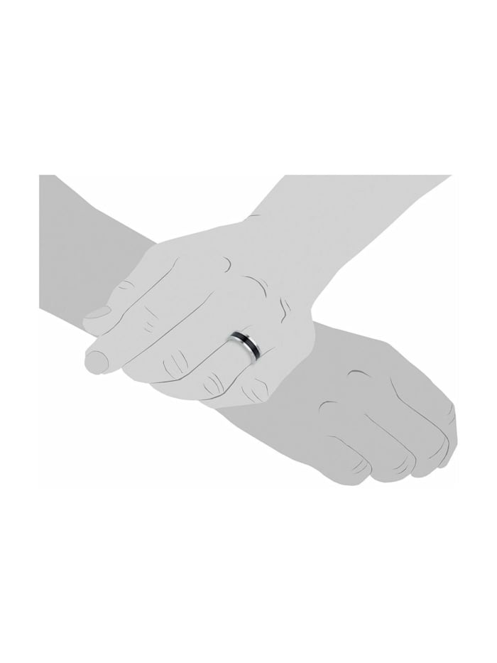 Ring für Herren, Edelstahl