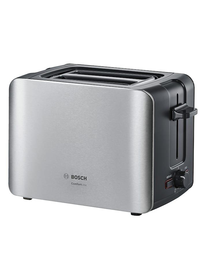Bosch Bosch Kompakt-Toaster TAT6A913, Edelstahl/schwarz