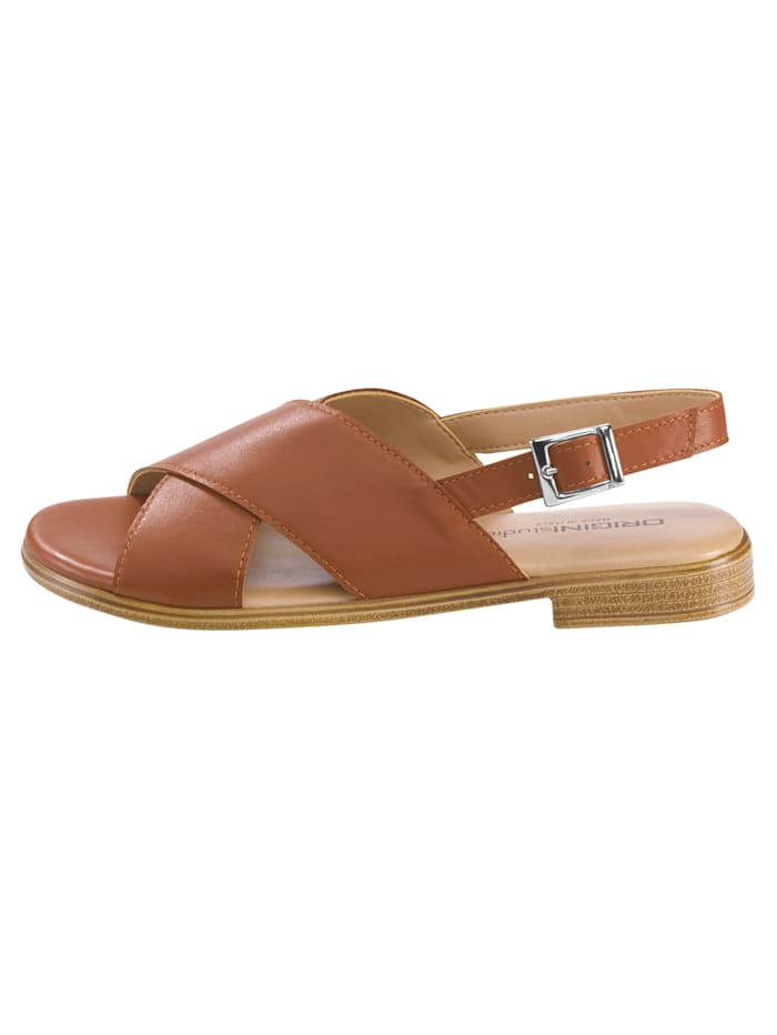 Sandales à jolies brides croisées
