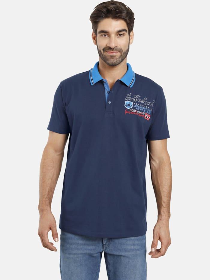 Jan Vanderstorm Jan Vanderstorm Poloshirt INGER, blau