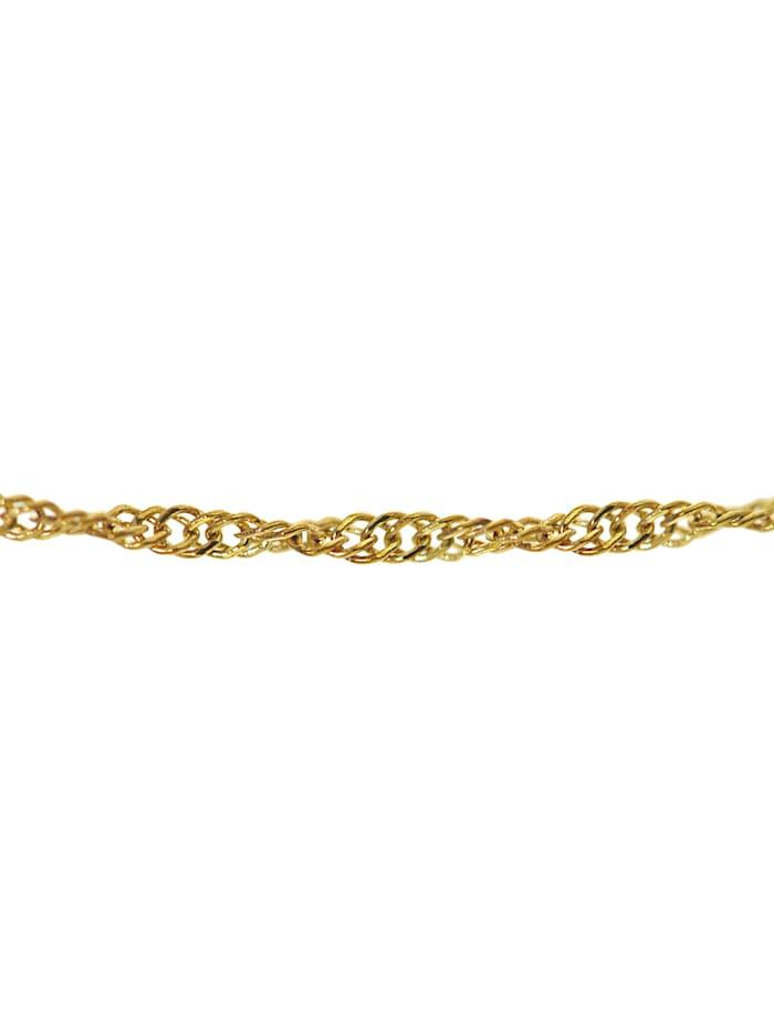 Goldkette für Damen 333 Gold (8 Karat) Singapur-Muster 1,0 mm